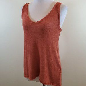 NWT UO Orange Sleeveless Project Social T Tank Top